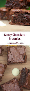 Gooey chocolate brownie traybake