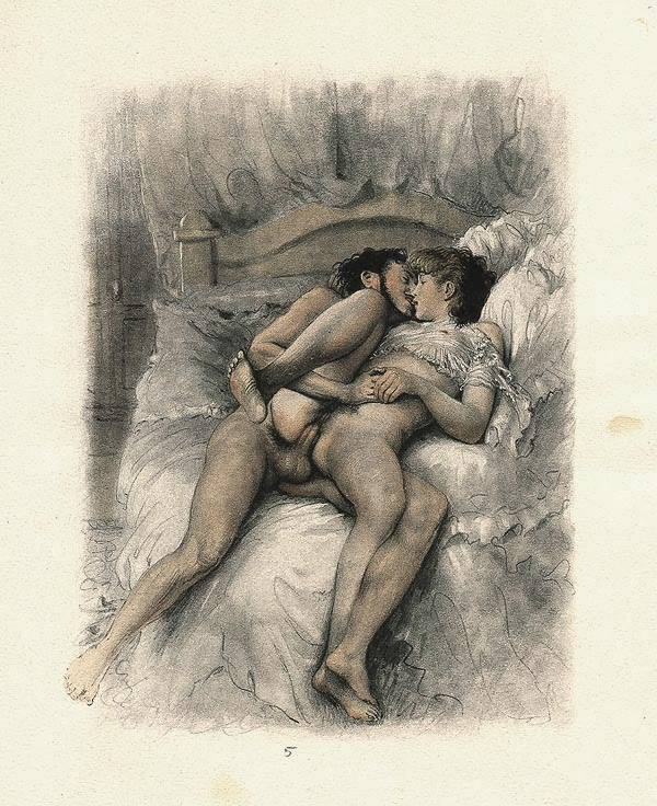 The erotic pics etching