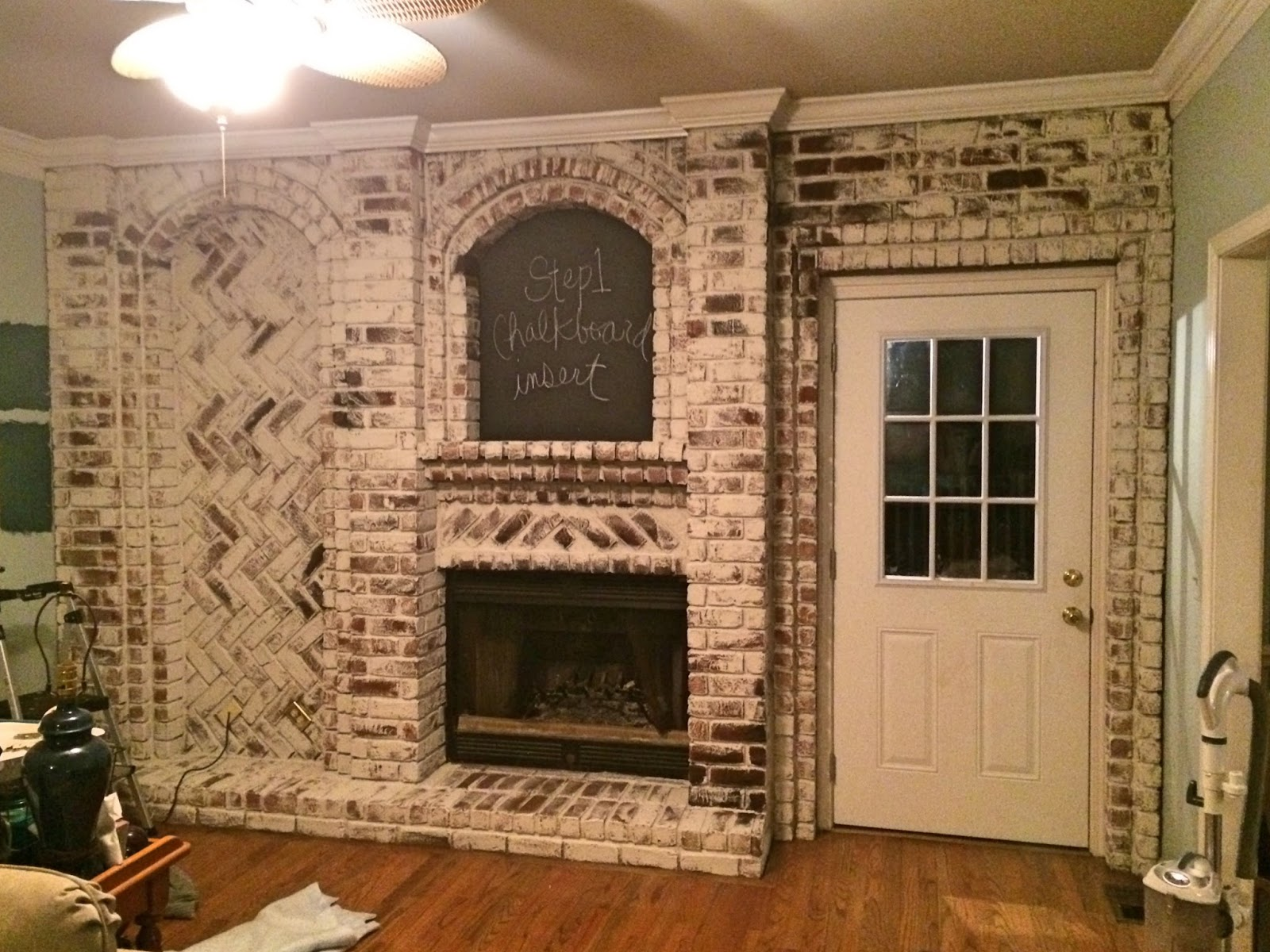 The Half Finished House: Brick: to paint or not to paint