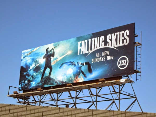 Falling Skies season 4 Tom Mason billboard