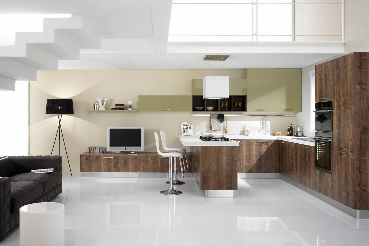 Cocinas descaradamente abiertas cocinas con estilo - Cucine e living ...