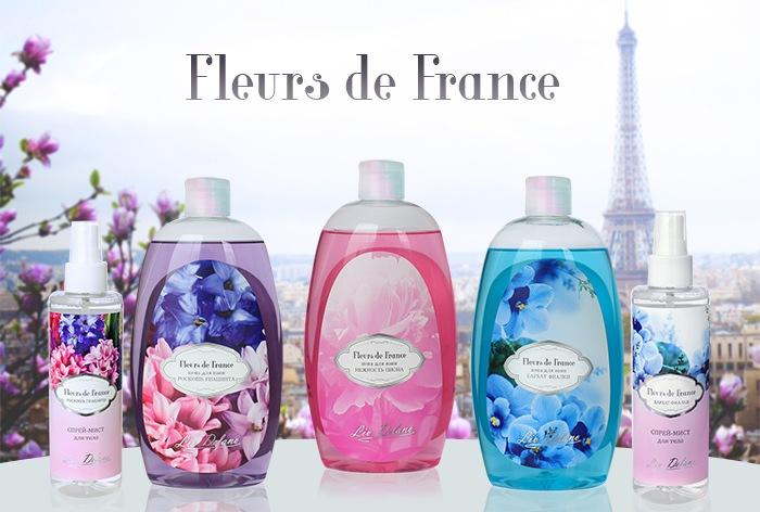 Liv Delano. Косметическая линия Fleurs de France