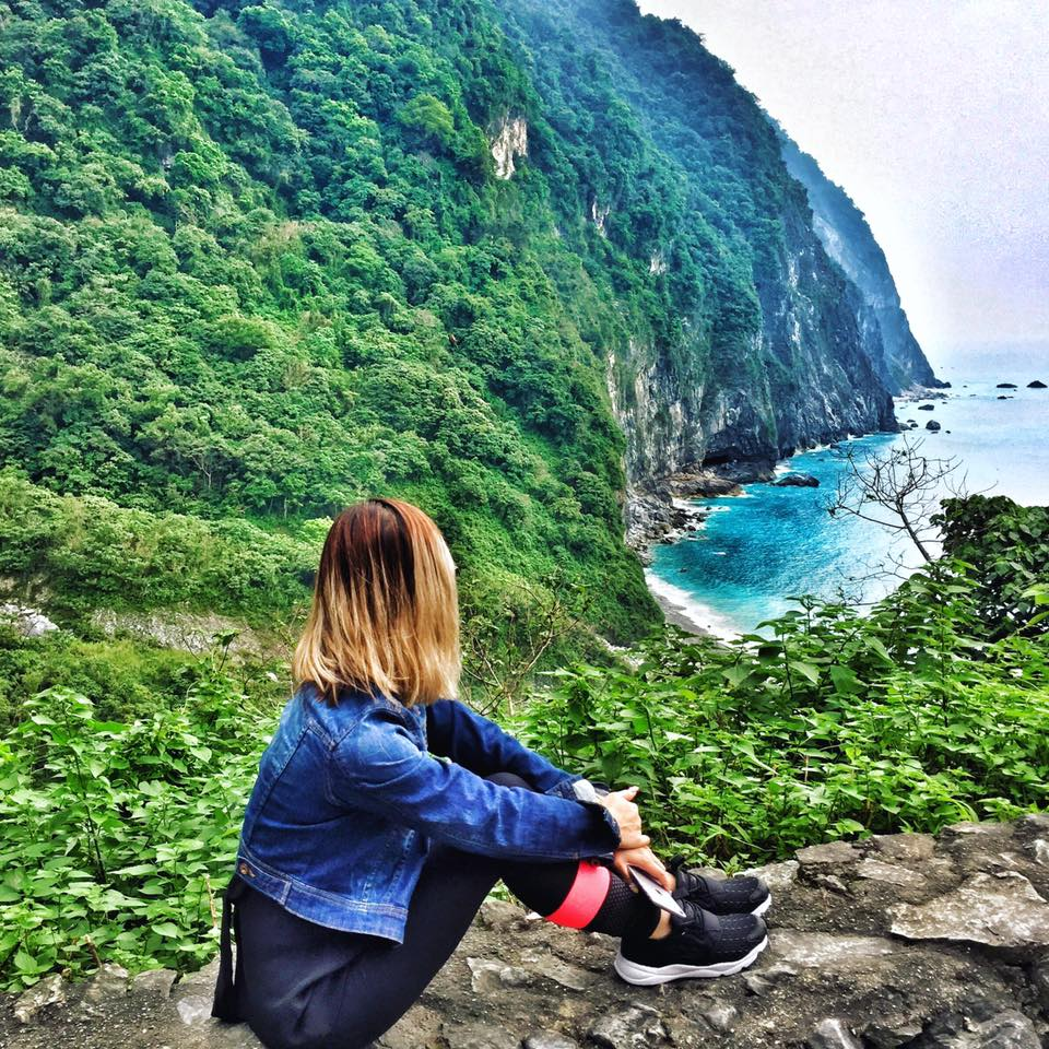 Travel with Crystal- 4 days in Taiwan- View from Ch'ing Shui Cliff