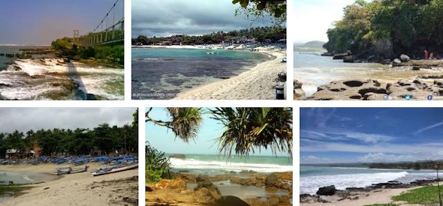 Pantai Rancabuaya  di Garut