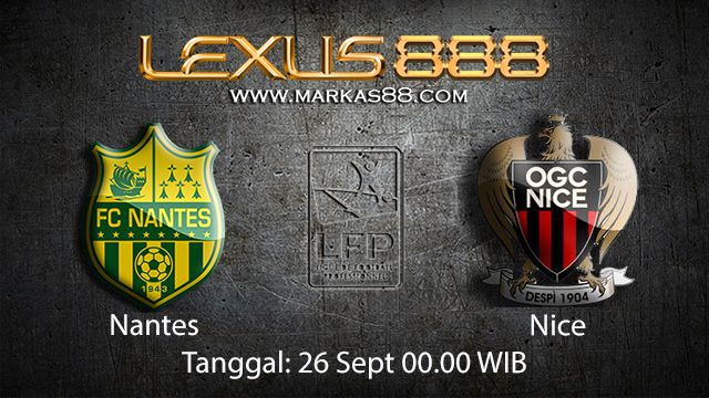 Prediksi Bola Jitu Nantes vs Nice 26 September 2018 ( French Ligue 1 )