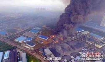 Trung Quốc lại nổ nhà máy điện