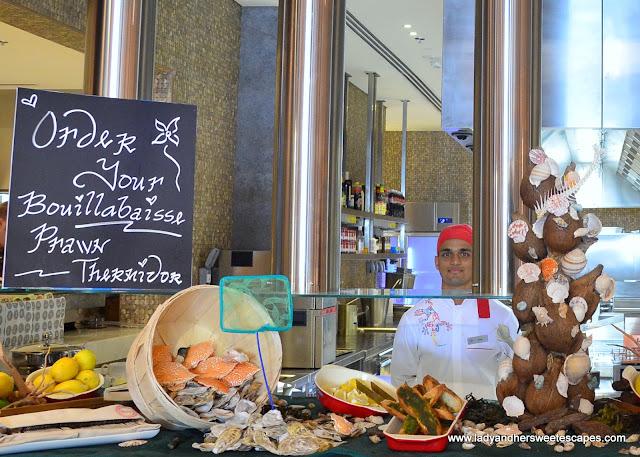 soup station at Lapita's Daycation Brunch