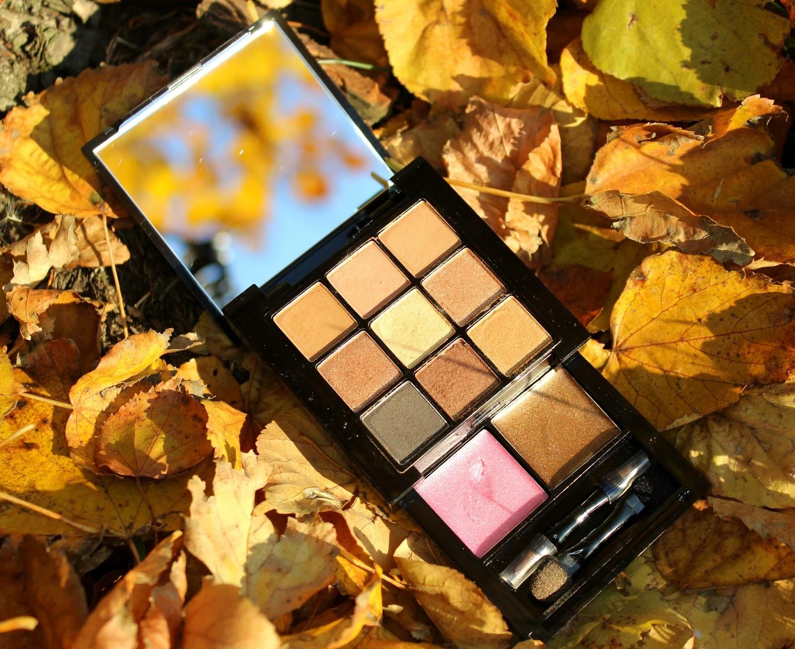 Jesienna paletka NYX Bronze Smokey Look Kit