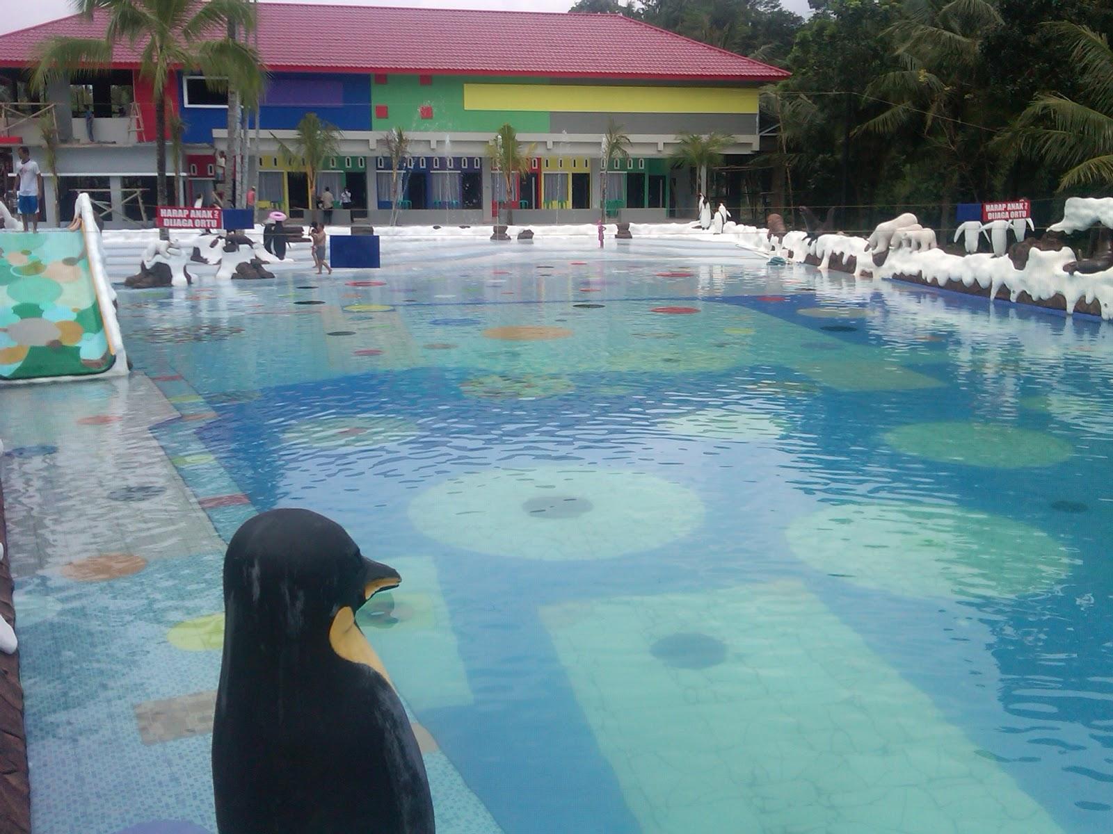 kolam ombak quot hotel surya yudha waterpark quot banjarnegara