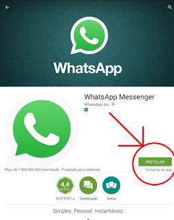 Como instalar e fazer download do Whatsapp