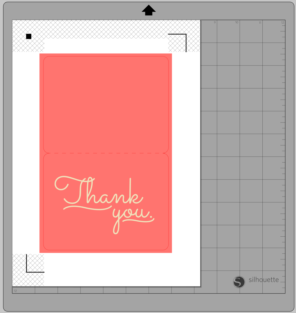 Silhouette Uk Free Design Of The Week Thank You Notes