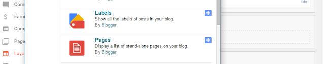 Add Menu Bar in Blogger
