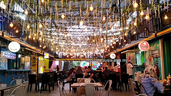 Container Food Court in Miri