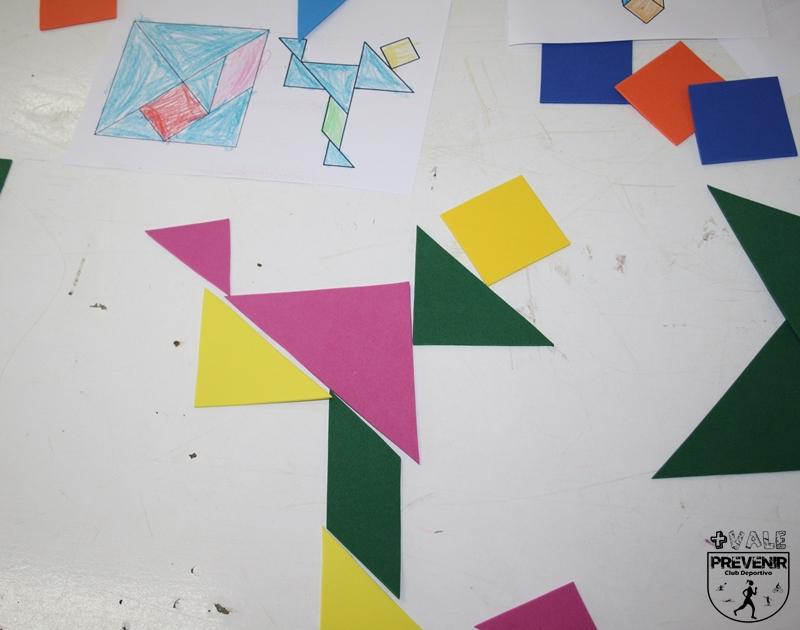 juego tangram en goma eva para niños