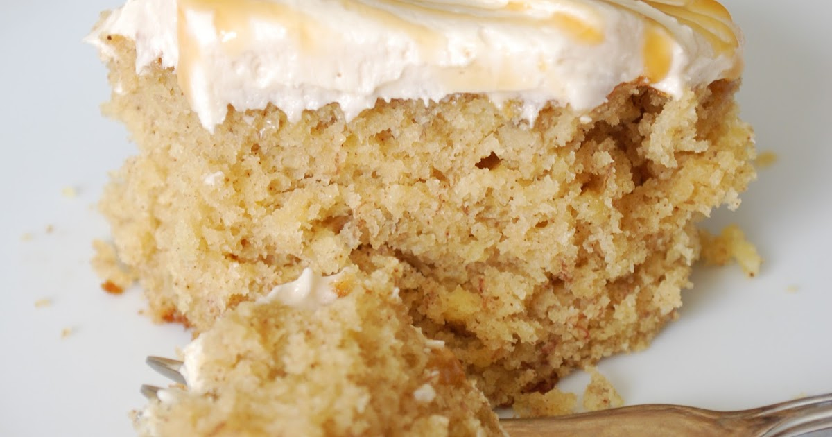 Banana Cake With Plain Flour And Brown Sugar