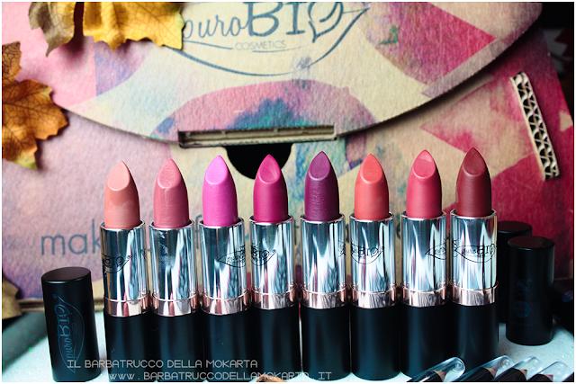 matite labbra  purobio , lipspencil vegan makeup, bio makeup, Recensione