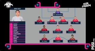 Susunan Pemain Indonesia vs Filipina - Piala AFF 2018