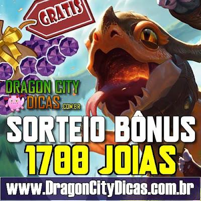1700 JOIAS GRÁTIS - SORTEIO BÔNUS!