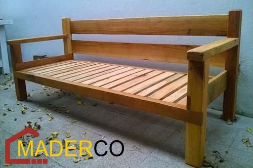 Como hacer muebles de jard n reciclados maderco peru - Como hacer un sillon de madera ...