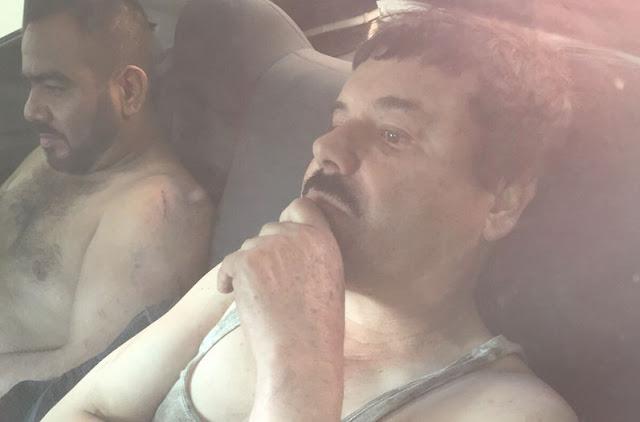 El Chapo Guzmán fue capturado, anuncia el presidente de México
