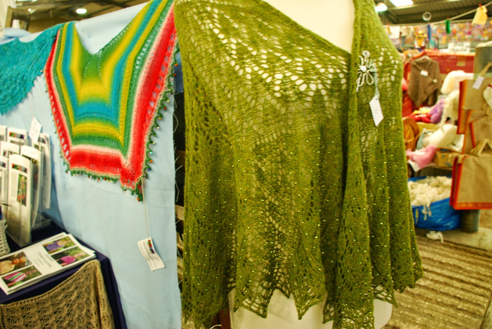 image of knitted shawl