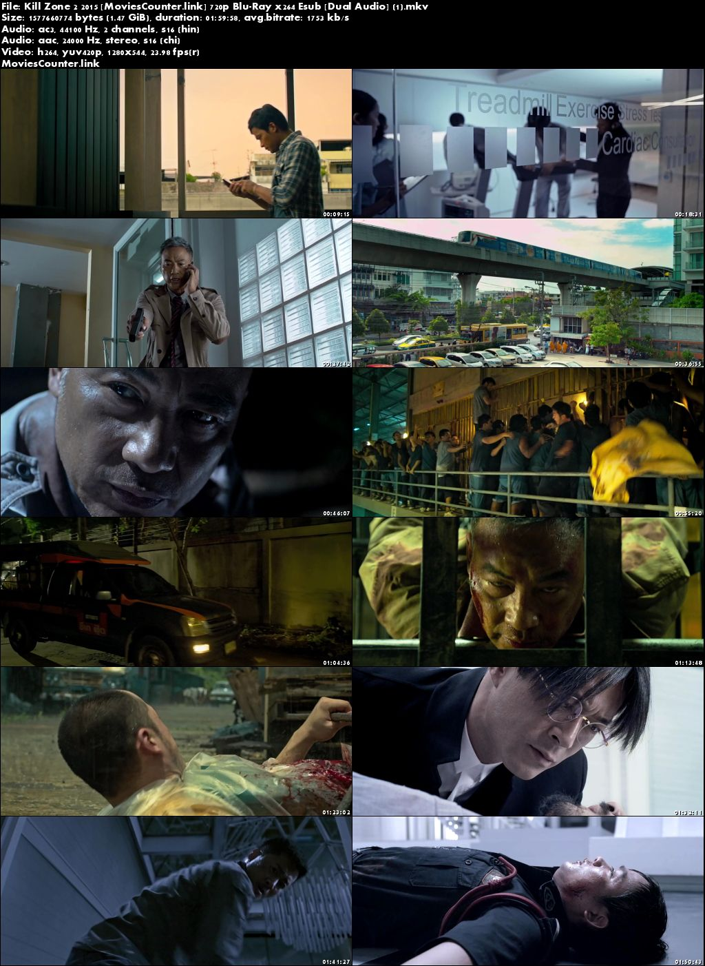 Screen Shot Kill Zone 2 2015 Dual Audio HD 720p
