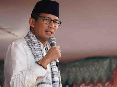 Indonesia Peringkat 10 Industri Halal Dunia, Sandiaga Uno Gerah
