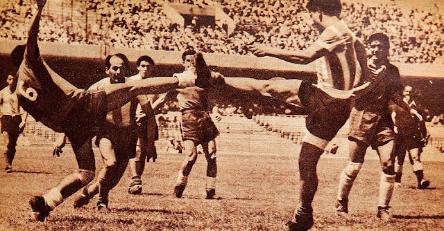 Argentina y Chile en Campeonato Panamericano 1956, 11 de marzo