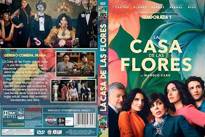 CARATULA - [SERIE DE TV] LA CASA DE LAS FLORES - 2018