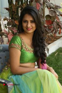 Actress Nikitha Bisht Stills in Lehenga Choli at Pochampally Ikat Art Mela Launch  0333.JPG