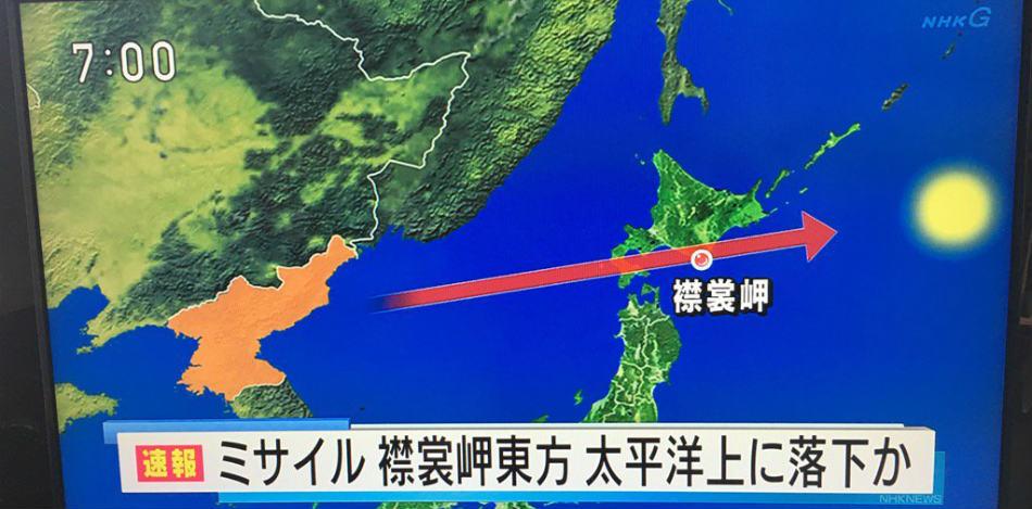 Televisoras de la potencia asiática alertaron sobre la acción bélica del dictador norcoreano