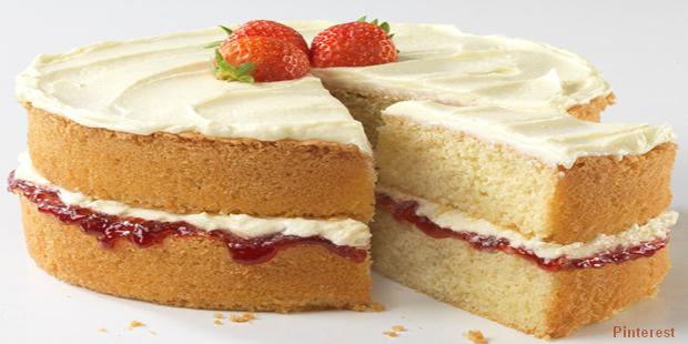 Recette Sponge Cake Fraise