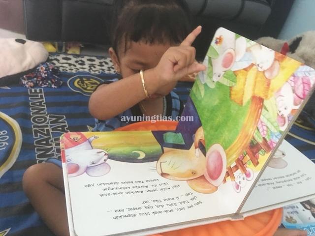 Buku dongeng halo balita