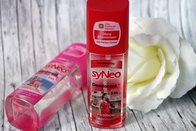 syNeo Aura Deodorant Passion im roten Design