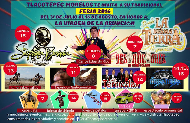 feria tlacotepec 2016