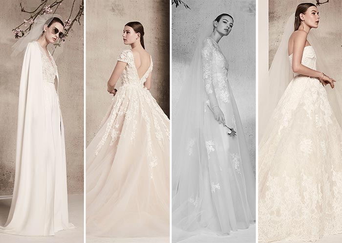 Elie Saab Bridal Spring 2018 Collection