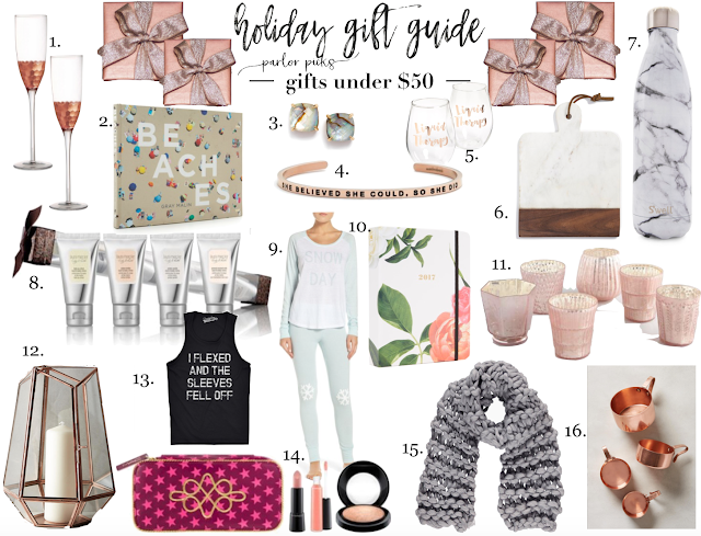 parlor girl holiday gift guide picks under 50