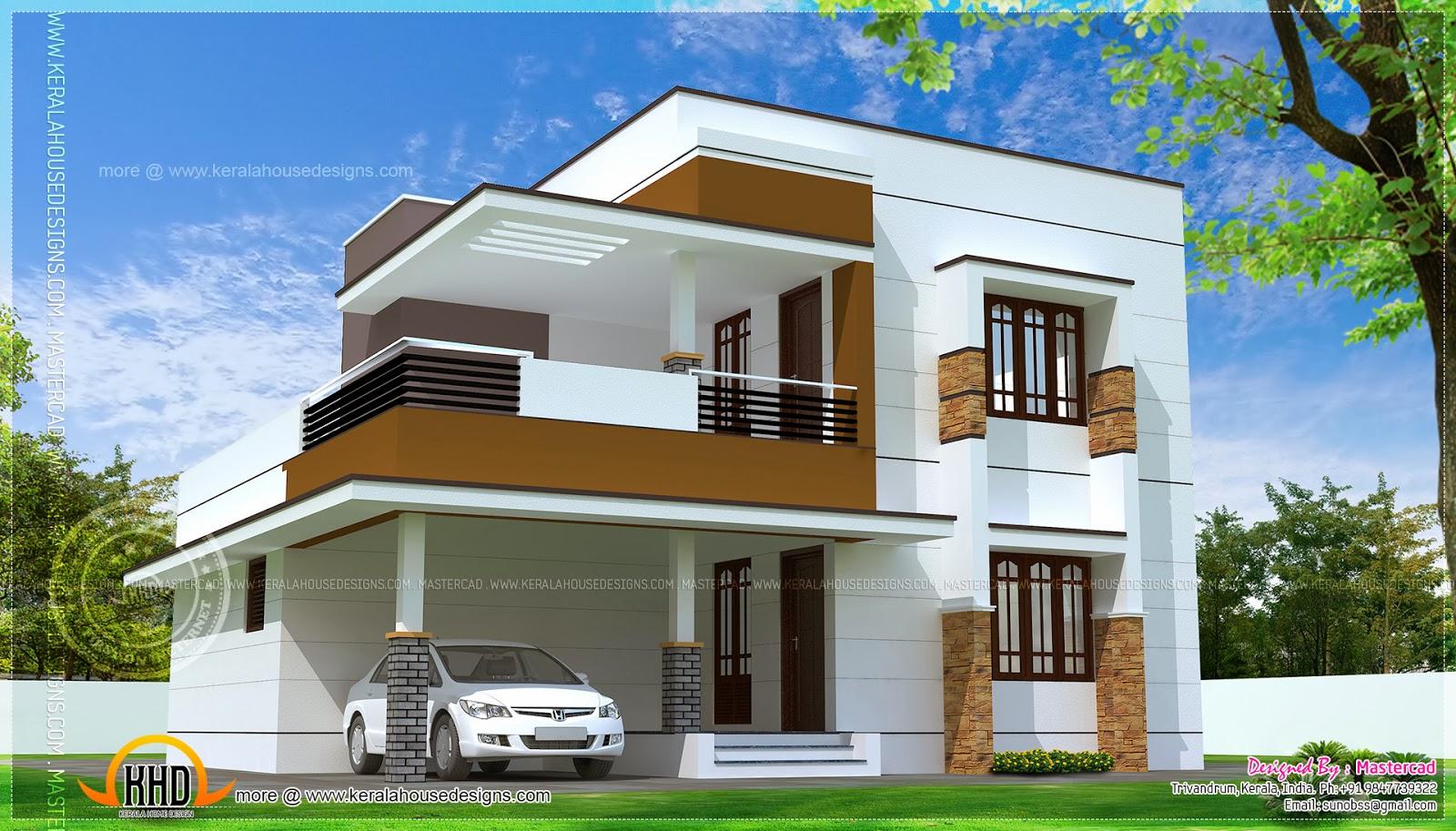simple modern home design square feet kerala home design september kerala home design floor plans
