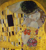 Gustav Klimt's The Kiss