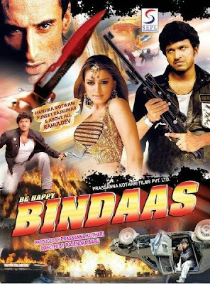 Poster Of Be Happy Bindaas (2008) In hindi dubbed Dual Audio 300MB Compressed Small Size Pc Movie Free Download Only At worldfree4u.com