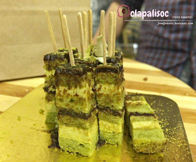 Matcha Green Tea Opera Gateaux Chocolate Room