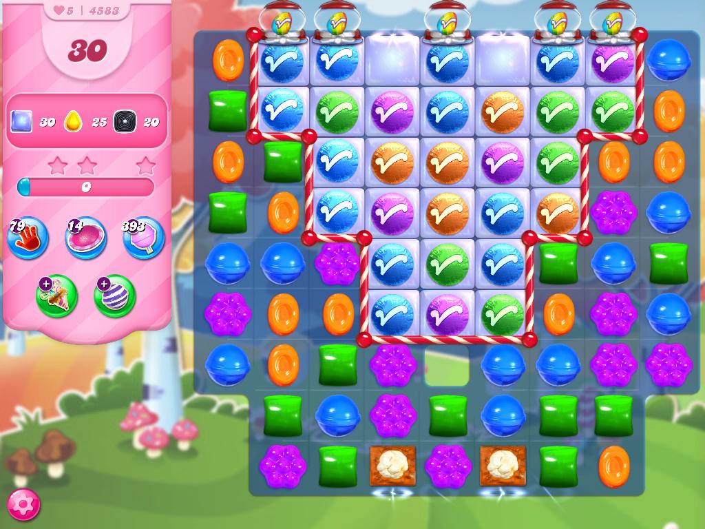 Candy Crush Saga level 4583