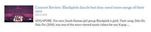 Black Pink'in Güney Doğu Asya turu karışık yorumlar aldı