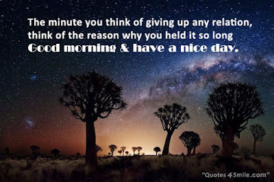 Famous Quotes About Life Changes: the minute you think of giving up any relation,
