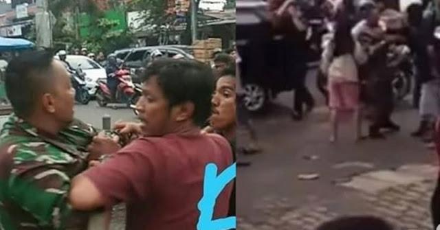 8 Fakta Terungkap Tukang Parkir Keroyok Anggota TNI dan Polsek Ciracas Berakhir Dibakar Massa