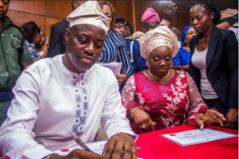 Seyi Makinde, Oyo Governor-elect Gets Certificate Of Return