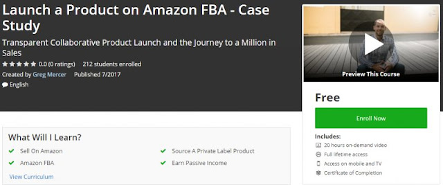 [100% Free] Launch a Product on Amazon FBA - Case Study