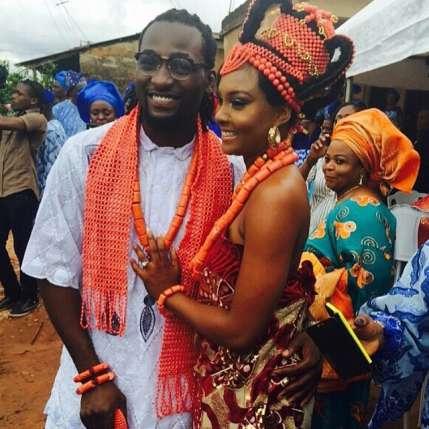 Osas Ighodaro and Gbenro Ajibade Traditional Wedding