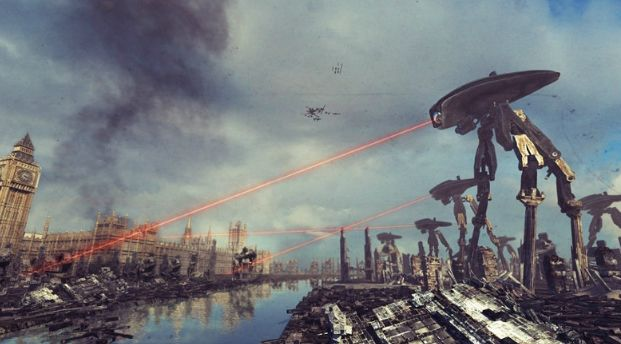 Filme Guerra dos Mundos Gravação do Audiolivro