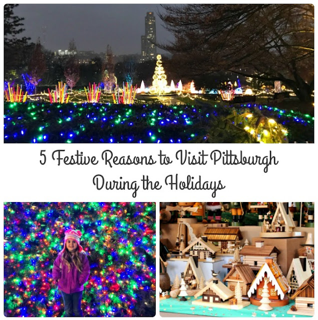 Twinkling lights, holiday magic, and festive family fun await you & your family this holiday season in Pittsburgh, Pennsylvania.